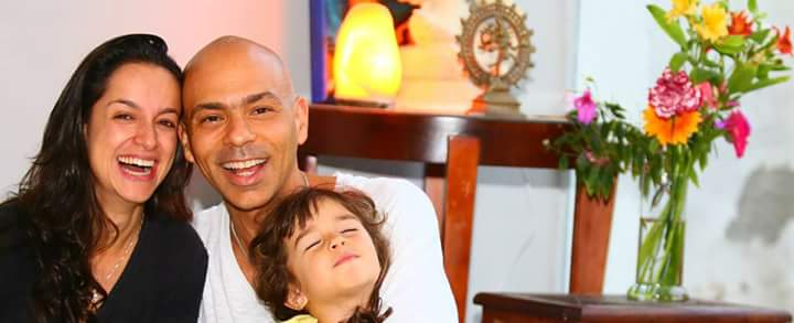 O amor em família, umas das prerrogativas que permeia todo o trabalho de Vitor