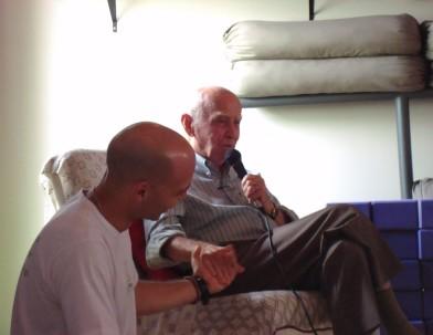 Vitor e Professor Hermógenes, amizade e parceria